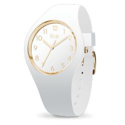 Ice Watch - Montre blanche femme bracelet silicone Ice Glam (015339)