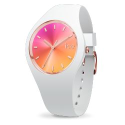 Ice Watch - Montre blanche femme bracelet silicone Ice Sunset (015750)