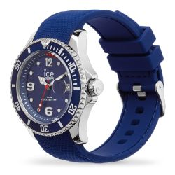 Ice Watch - Montre bleue homme bracelet silicone Ice Steel (015770)