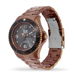 Ice Watch - Montre bronze mixte bracelet métal Ice Steel (016767)