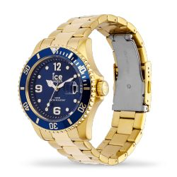 Ice Watch - Montre dorée mixte bracelet métal Ice Steel (016761)