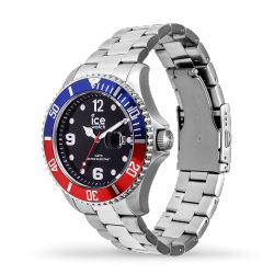 Ice Watch - Montre argentée mixte bracelet métal Ice Steel (016547)