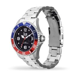Ice Watch - Montre argentée mixte bracelet métal Ice Steel (016545)