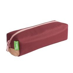 Tann's - Trousse simple bordeaux et rose Palermo (11284)