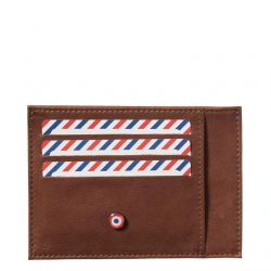 Larmorie - Porte-cartes homme en cuir nubuck Made in France Paul