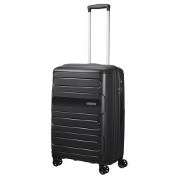 American Tourister - Valise rigide extensible taille moyenne 68cm 4 roues 72.5/83.5 litres Sunside (107527)